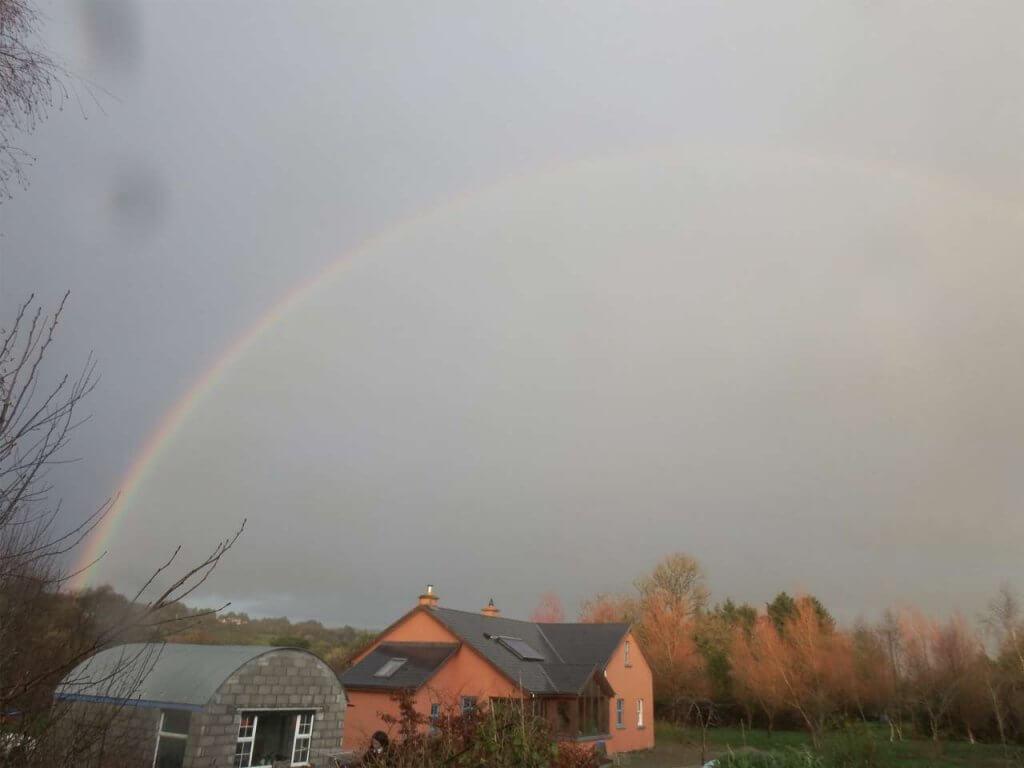 虹を撮る写真2