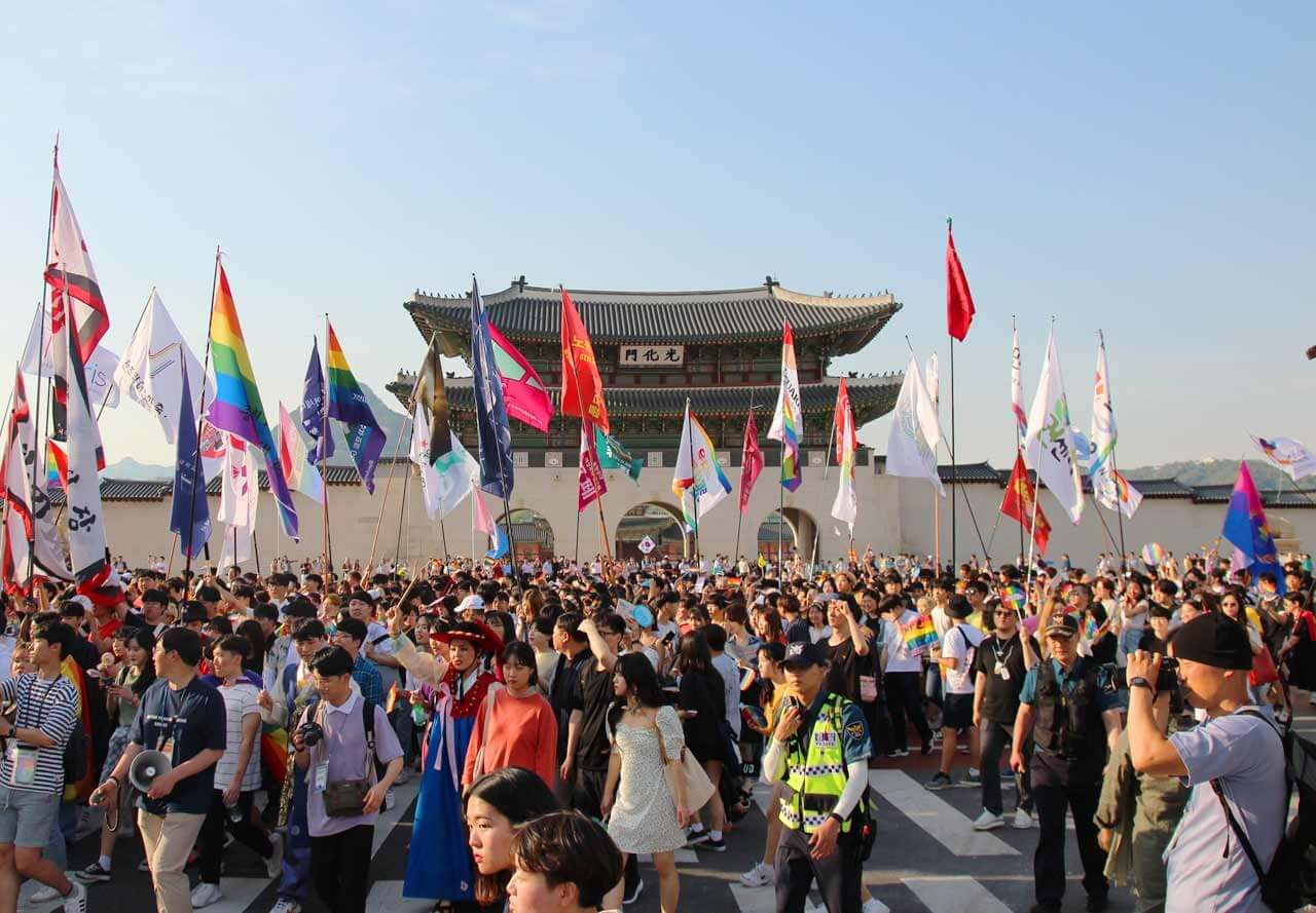 ソウルのクィアパレードから – 1ヘッダー画像