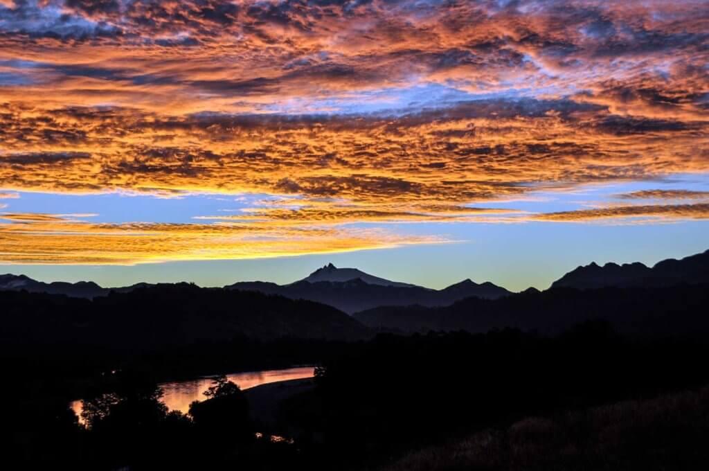 パタゴニア 夕焼け