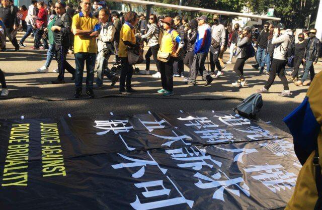 デモの写真