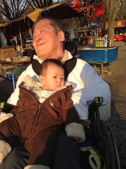 上田さんと孫